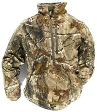 New Cabela's Dimension Fleece 1/4 Zip WindShear Scent Hunting Pullover Jacket