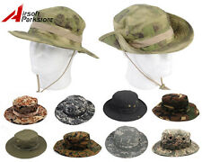 Bucket Hat Military USMC Fishing Hunting Camping Wide Brim Boonie Hat Cap