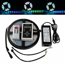 Sale Dream Color 133 change 6803 IC Chip 5M 5050 RGB LED Strip+Controller+Power