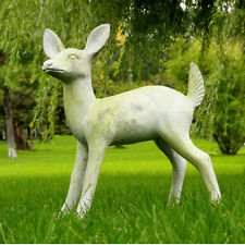 Fawn Deer Outdoor Garden Statue by Orlandi Statuary - Faux Concrete-FS8644