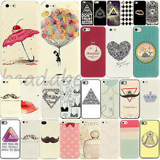 New Fashion Classic Pattern Phone Hard Skin Cover Case for iPhone 5 5S 5C 4 4S