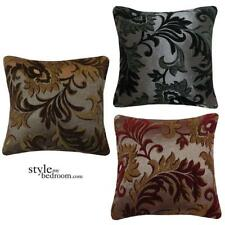 Luxury Quality Jacquard Chenille Floral Regency Damask Cushions or Covers