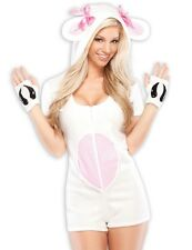 Sexy Cute Womens Lamb Sheep Furry Animal Halloween Costume