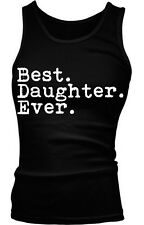 Best Daughter Ever Family Birthday Gift Holiday Present Idea Boy Beater Tank Top
