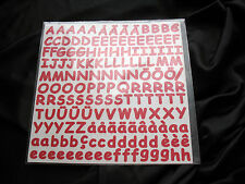 CREATIVE MEMORIES LARGE ABC/123 ALPHABET LETTERS; AWESOME COLORS