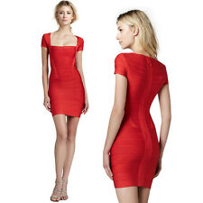 Bandage Dress Womens Ladies Sexy Celeb Boutique Party Bodycon Dresses