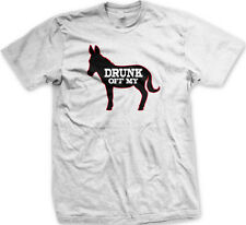 Drunk Off My Ass Donkey Beer Shot Alcohol Drunk Bar Party New Mens T-shirt