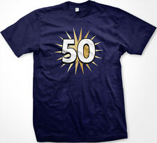 50 Fiftieth Fifty Years Old Happy Birthday Party Getting Old New Men's T-shirt
