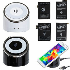 Qi Wireless Charger Charging Pad For Samsung Galaxy S5 S4 S3 Note 3,2+ Receiver