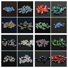 60-360pcs Exquisite 4x8mm Long Bicone Crystal beads Color&Quantity Optional