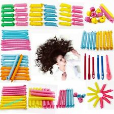 New Magic Leverag Curl Hair Curlers Rollers Spiral Ringlets All Size  with stick