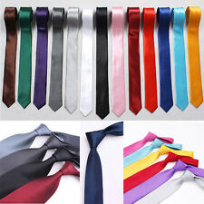 Charm Solid Plain Classic 100% New Silk Jacquard Women Necktie Mens Tie Wedding