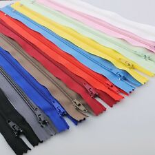 22/44/132pc Upcik Lots Color Nylon Coil Zippers Tailor Sewing Tools 8 Inch ZXA58