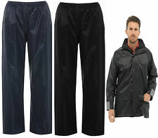 `Mens Total  Storm Waterproof Rain Over Trousers or  jacket Overtrousers Fishing