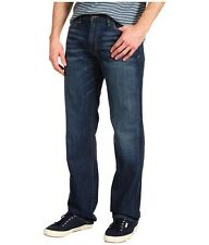 LUCKY BRAND JEANS PANTS MENS 30 34 36 VINTAGE STRAIGHT 361 DENIM BLUE NEW
