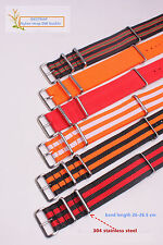 18mm 20mm 22mm 24mm Nylon Watch band watch strap colorful fashion watch band