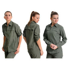 HighQuality Women Fast Dry Hiking Fishing Outdoor Shirt Anti UV Long Sleeve BBUS