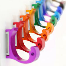 Colorful Clothing Hooks Space Alumimum Home DIY Towel Hanger Hooks Wall-mounted