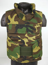 COVER ONLY! Military Camouflage Paintballing Airsoft DPM Body Armor Vest TNK6