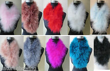 Free shipping/real ostrich feather fur neckerchief /scarf / 70cm*14cm/12color