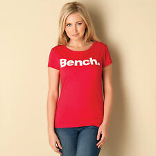 Womens Bench New Deck T-Shirt In Red From Get The Label
