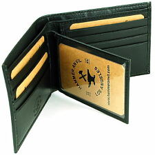 Men's Leather Wallet By Hammer Anvil Multi Card High Capacity Compact Bifold New