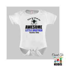 This is what an Awesome Little Brother Looks Like Baby Bodysuit Toddler Tshirt