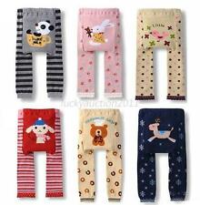Baby Kinder Boy Girl Cotton PP Pants Toddler Cozy Tight Leggings Trousers S M L