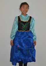 BRAND NEW Girl Frozen Anna Dress Size 2,3,4,5,6,8