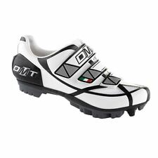 DMT Gemini MTB Mountain Bike SPD Cycling Shoes Black White Kids Childrens Junior