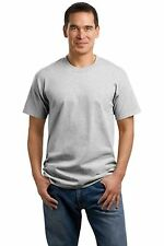Blank Plain Grey T-Shirts Short Sleeve Grey Blank Cotton shirts Port & Company