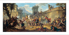 """NICOLAS MONSIAU """"Alexander the Great in India"""" BLOODSHED battle conquest CANVAS"""