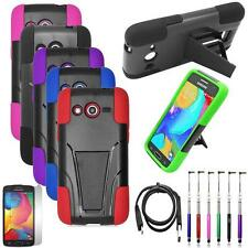 Phone Case For Samsung Galaxy Avant Rugged Cover Stand USB Charger Film Stylus