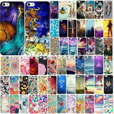 60Colors Pattern Cute Design Phone Hard Back Skin Case Cover For Apple iPhone 5C