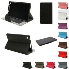 """New 7"""" Inserted Card PU Leather Plastic Protective Case For Google Nexus 7 II"""