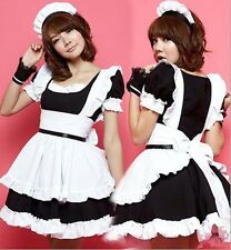 Sexy Lady Women Adult Charming Outfits Costume Party Halloween Maid Fancy Dress