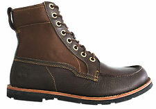 Timberland Earthkeepers 2.0 Rugged Mens Boots Brown Leather Lace Up 5629R D122