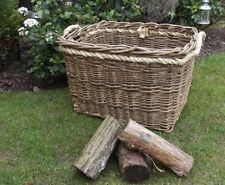Willlow Log Baskets for Wood burning Stoves
