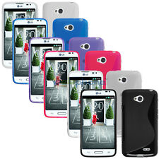 S Wave GEL Rubber Case TPU Cover Slim Skin For LG Realm LS620 Boost Mobile