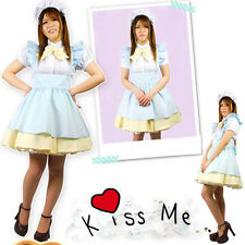 Japanese CUTE Girl Maid UNIFORM lolita Cosplay Costume HEN PARTY DRESS OUTFIT