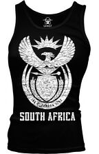 South Africa Coat of Arms Afrikaans Unity In Diversity Boy Beater Tank Top