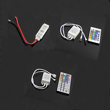 New LED 3/24/44 Keys IR Remote Controller Wireless For 3528 5050 RGB SMD  Strips