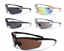 X Loop Sport Cycling Fishing Golf Baseball Half Frame One Piece Lens Sunglasses