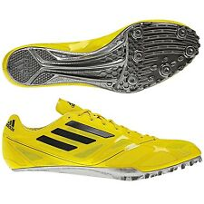 adidas Performance Adizero Prime Finesse Running Track Spikes Shoes - Yellow