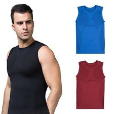 Men's Body Slimming Control Shaper Vest Tummy Belly Waist Girdle Shirt Underwear