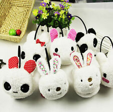 Cartoon cute panda rabbit rabbit plush ear cover to keep warm winter earmuffs