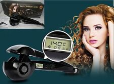 New LCD Pro Perfect Curl Hair Curling Hairdressing Styler Tool XMAS GIFT UK PLUG