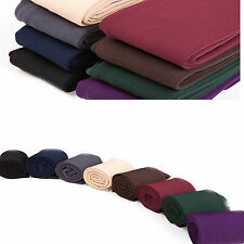 New Lined Leggings Opaque Stretch Pants Warm Fleece Footless Adult Ladies