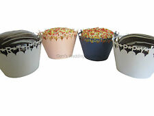 NEW Happy Birthday Cupcake Wrappers x 12 Party Cake Case Decorations Supplies