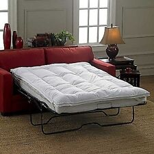 Sleeper Sofa Couch Bed Mattress Topper Comes in 3 Sizes Cot, Full & Queen New